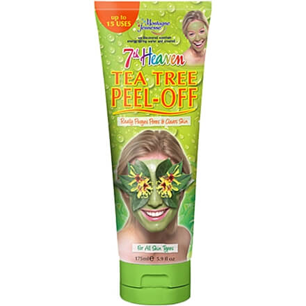 7th heaven tea tree peel off ansiktsmask, vegansk
