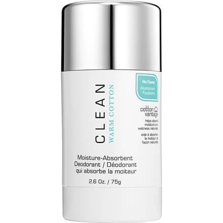 clean warm cotton deodorant
