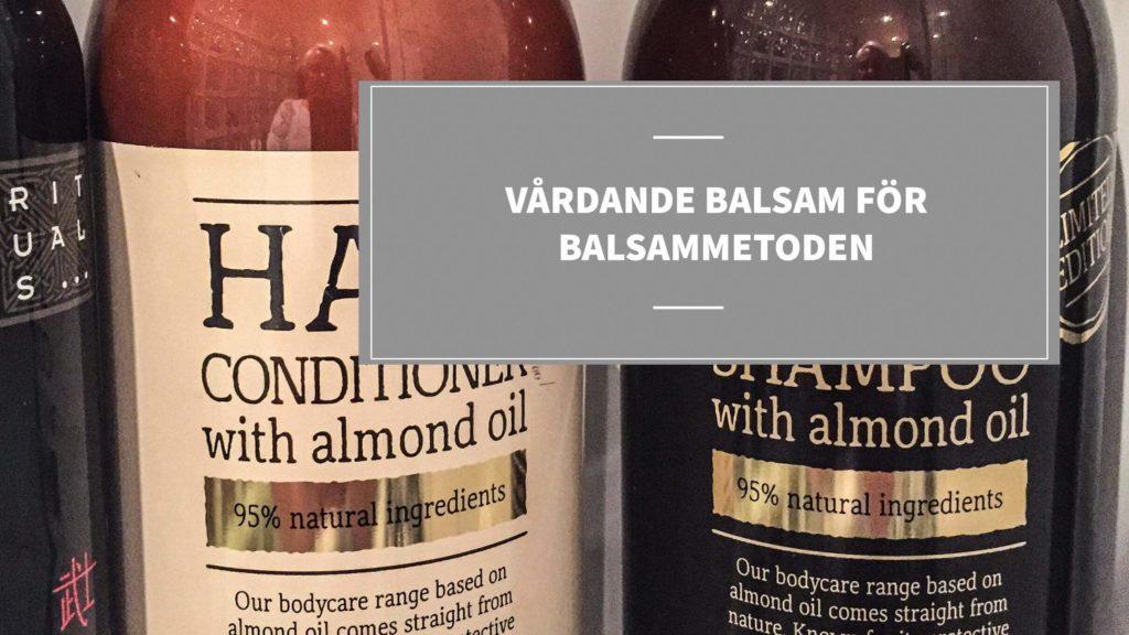 vardande veganska balsam balsammetoden
