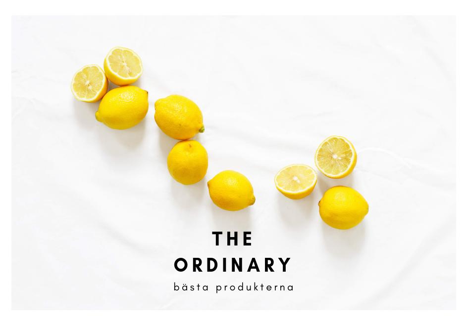 The Ordinary bästa produkterna guide