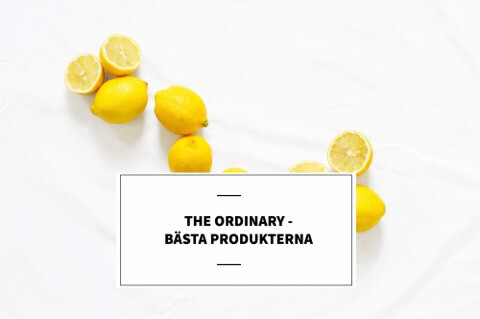 the ordinary guide bästa produkterna