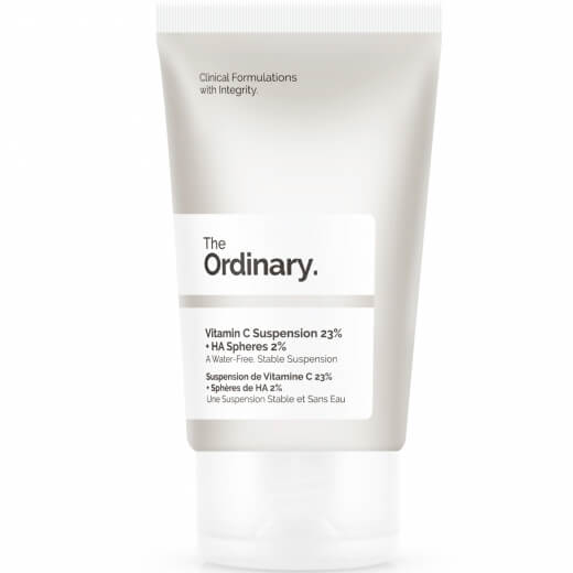 the ordinary nattkräm VITAMIN C SUSPENSION 23% + HA SPHERES 2%