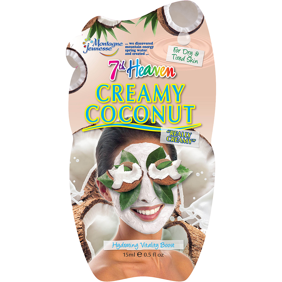 Creamy Coconut,  15ml 7th Heaven Ansiktsmask