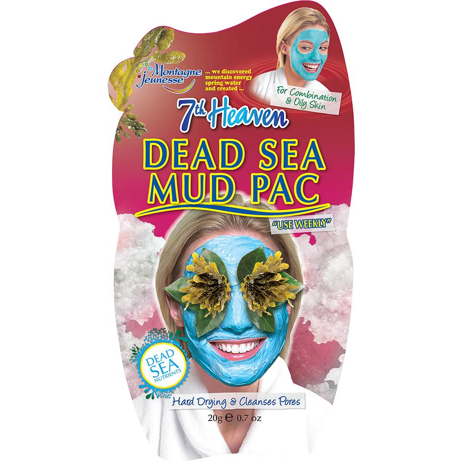 Dead Sea Mud Pac,  20g 7th Heaven Ansiktsmask