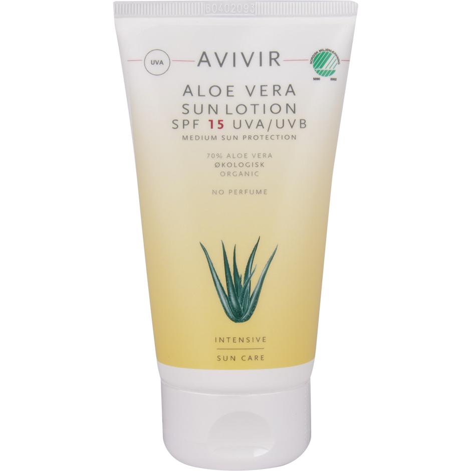 Aloe Vera Sun Lotion SpF 15,  150ml Avivir Solskydd