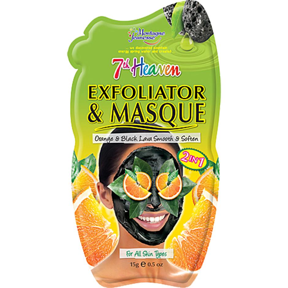 Exfoliator & Masque,  15g 7th Heaven Ansiktsmask
