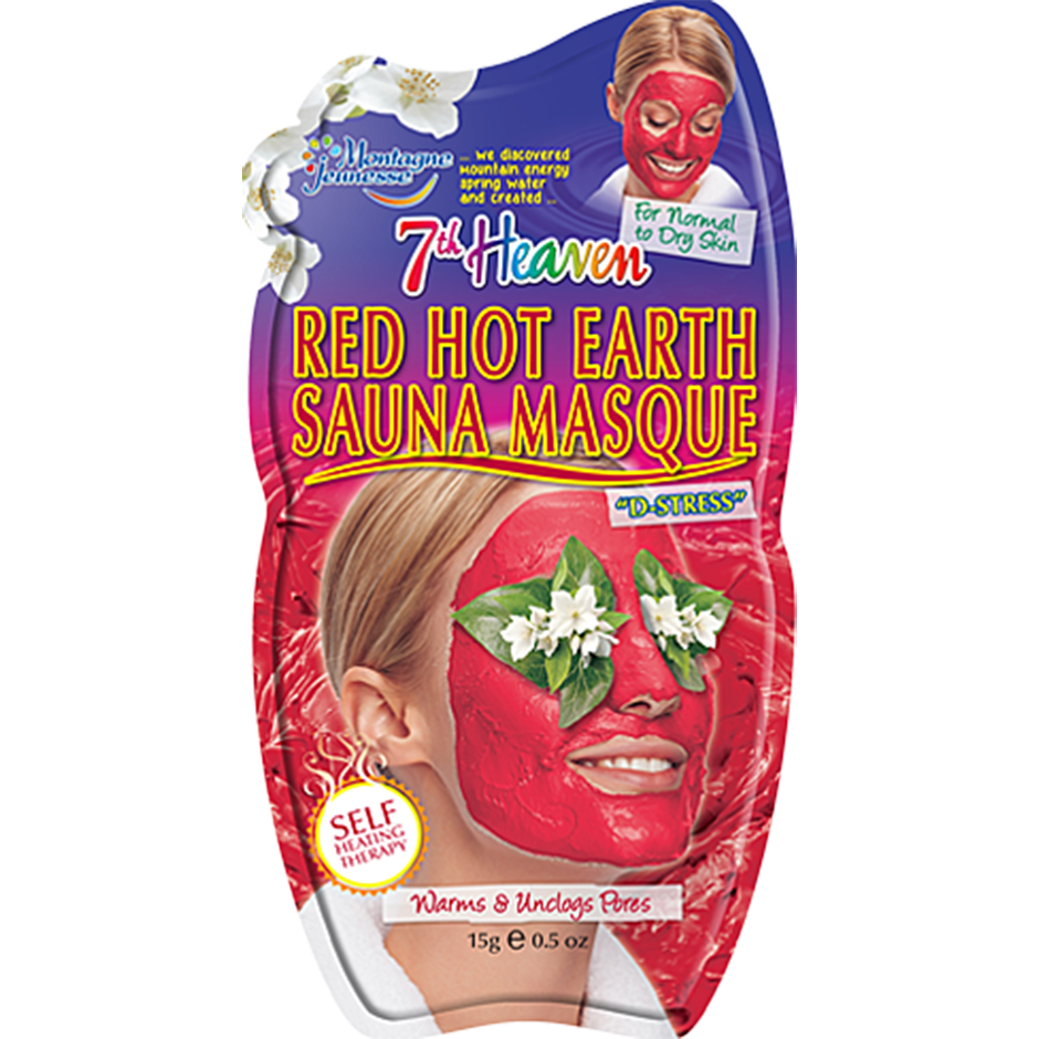 Red Hot Earth Sauna Masque,  7th Heaven Ansiktsmask