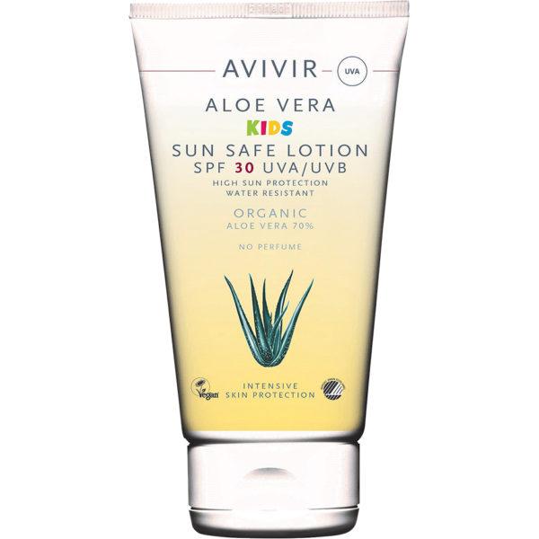 Aloe Vera KIDS Sun Safe lotion,  150ml Avivir Solskydd