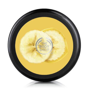 harinpackning body shop Banana Truly Nourishing Hair Mask