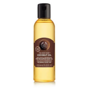 harolja The Body Shop coconut oil brilliantly nourishing pre shampoo hair oil