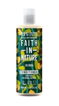 tvattbalsam Faith in Nature Jojoba Conditioner, 400 ml