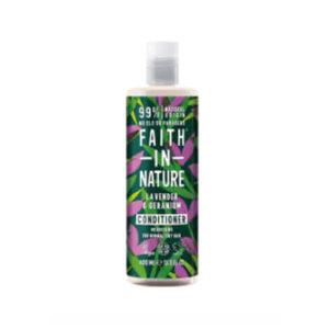 vardande balsam_faith in nature Lavender & Geranium Conditioner, 400 ml