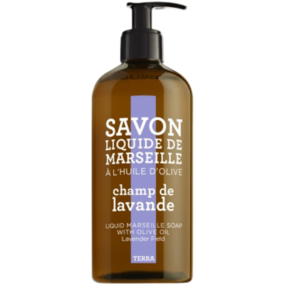Lavender Field, 500ml Compagnie de Provence Handtvål