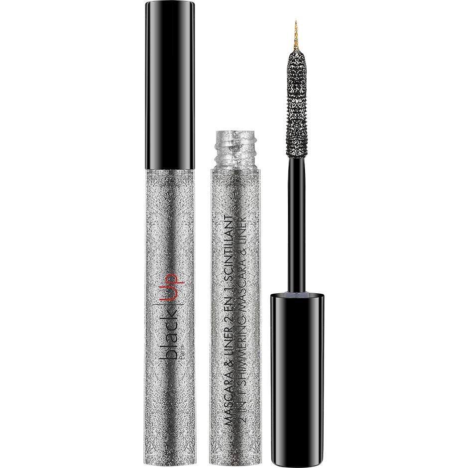 2-in-1 Shimmering Mascara & Liner, 4,5ml blackUp Mascara