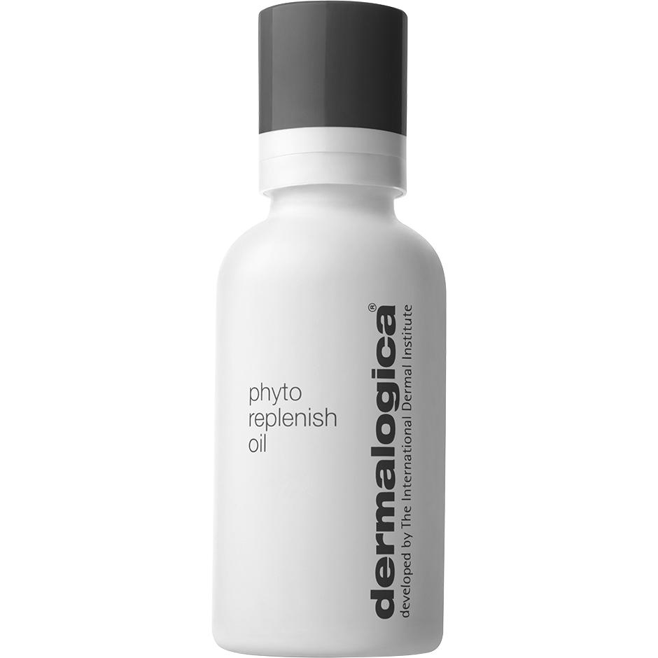 Phyto Replenish Oil, Dermalogica Serum & Ansiktsolja