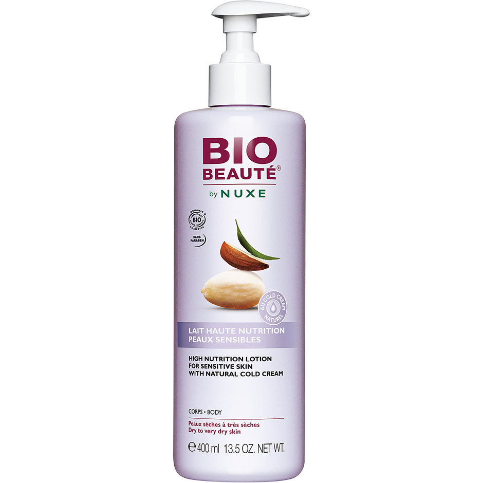 High-Nutrition, 400ml Bio Beauté¸ Kroppslotion