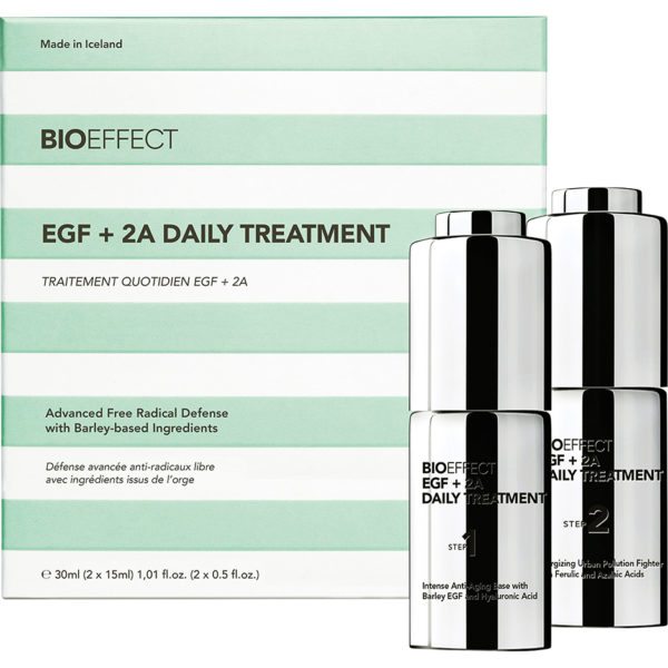 EGF + 2A Daily Treatment, Bioeffect Ansikte