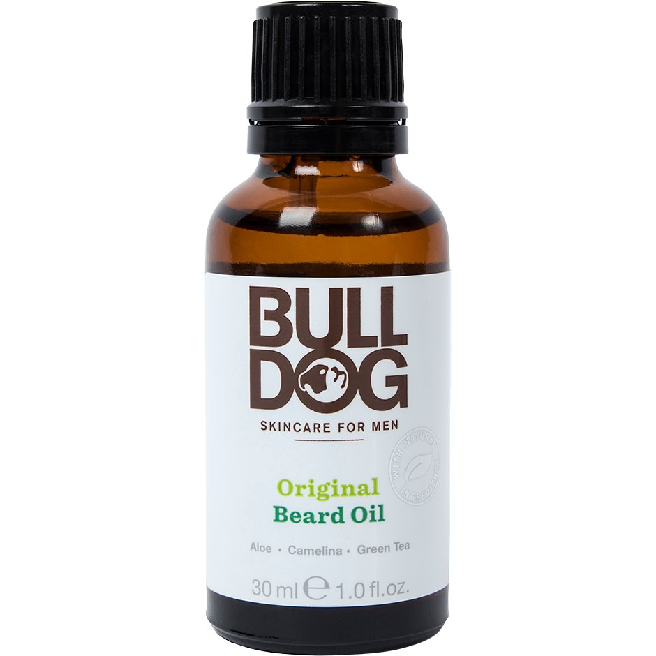 Original Beard Oil, Bulldog Skäggolja & Balm