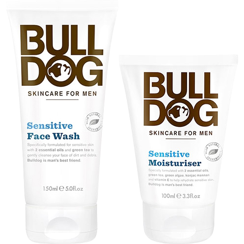 Bulldog Sensitive Duo, 150ml Bulldog Dagkräm