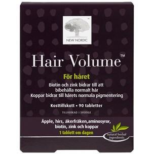 vitamin haret New Nordic Hair Volume Kosttillskott 90 st