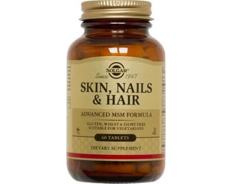vitamin haret solgar Skin Nail Hair Formula 60 tabletter