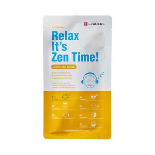 Leaders Cosmetics Relax Itss Zen Time! Sheet Mask