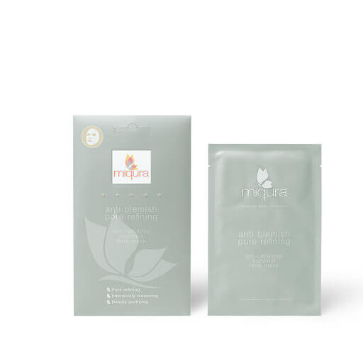 MIQURA Anti Blemish Pore Sheet Mask