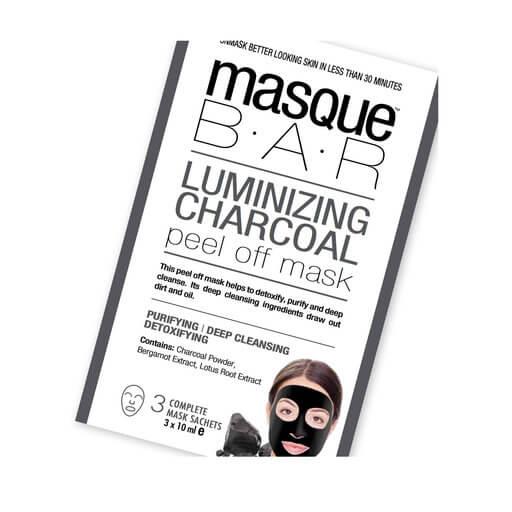 masque B.A.R Luminizing Charcoal Peel Off Mask