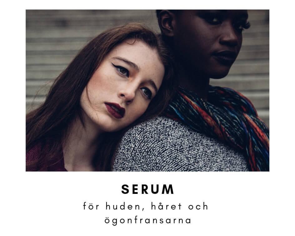serum for ansikte har ogonfransar